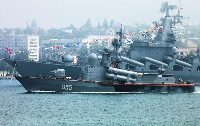 Фото: російські військові кораблі в Криму (mil.ru)