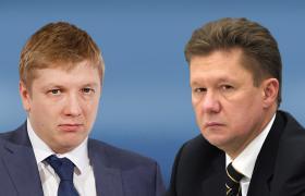 Андрею Коболеву и Алексею Миллеру предстоит договариваться в соответствии с решением арбитров (коллаж РБК-Украина)
