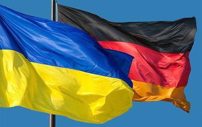 Фото: флаги Украины и Германии (minagro.gov.ua)