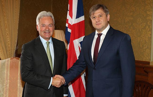 Фото: Украина и Британия подписали соглашение по налогообложению (Минфин)