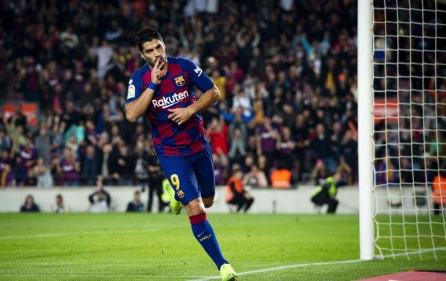 """Форвард """"Барселоны"""" Суарес надеется восстановиться к полуфиналу Лиги чемпионов"""