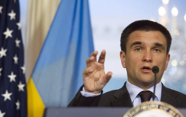 Клімкін запропонував США замінити нормандський формат переговорів на будапештський