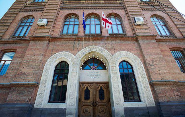 Фото: здание МИД Грузии