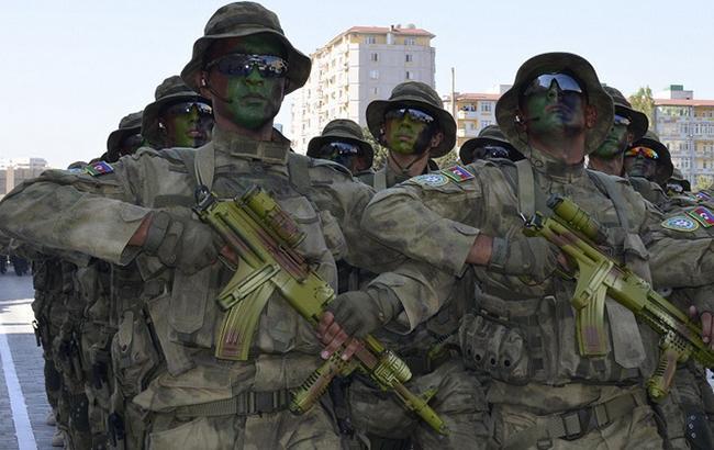 Фото: военнослужащие Азербайджана (Minval.az3)