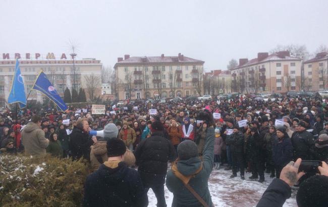 Фото: у Білорусі проходять масові акції протесту