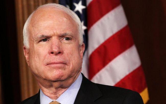 Немає нічого спільного між головорізом Путіним і США, - Маккейн