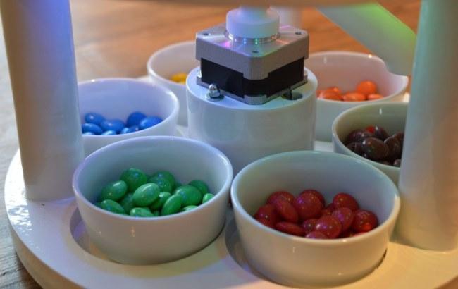 Фото: Відсортовані цукерки