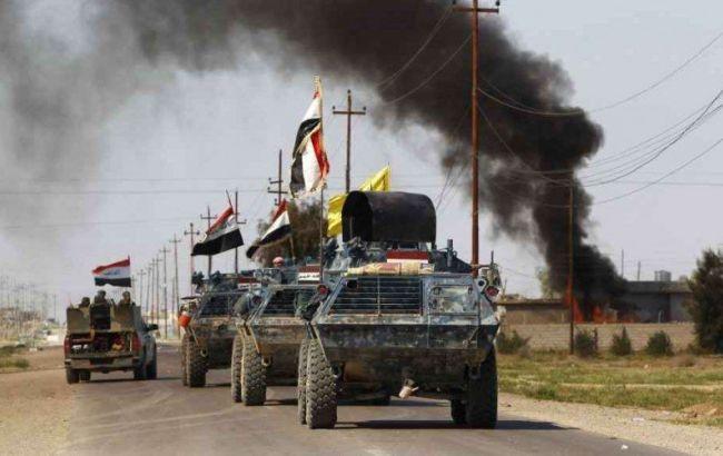 Фото: иракские войска в Мосуле