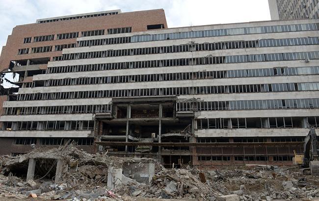 Фото: здание бывшего Генштаба Сербии в Белграде (mod.gov.rs)