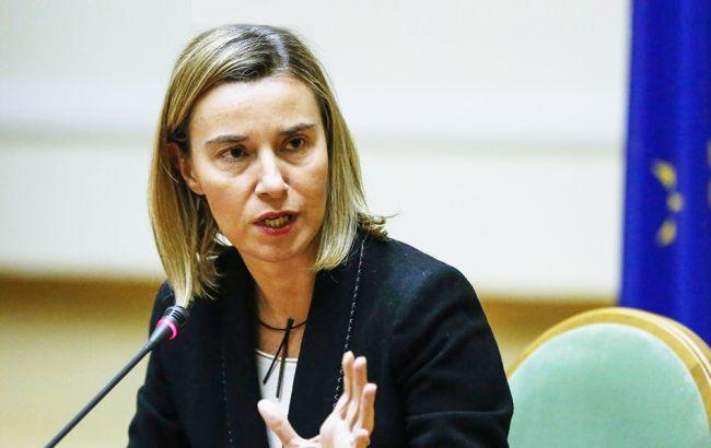 Фото: Федерика Могерини заверила в неизменной политике ЕС по санкциям против РФ