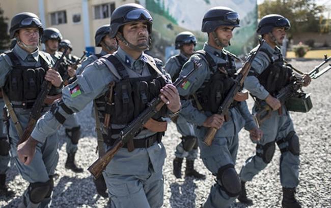 Фото: афганские полицейские (moi.gov.af)