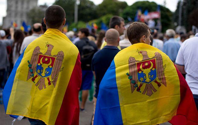 Фото: прихильники євроінтеграції в Молдові