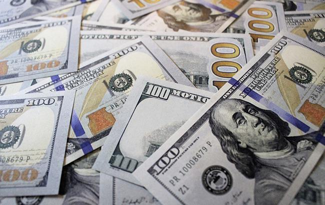 Курс доллара на межбанке упал до 27,84 грн/доллар