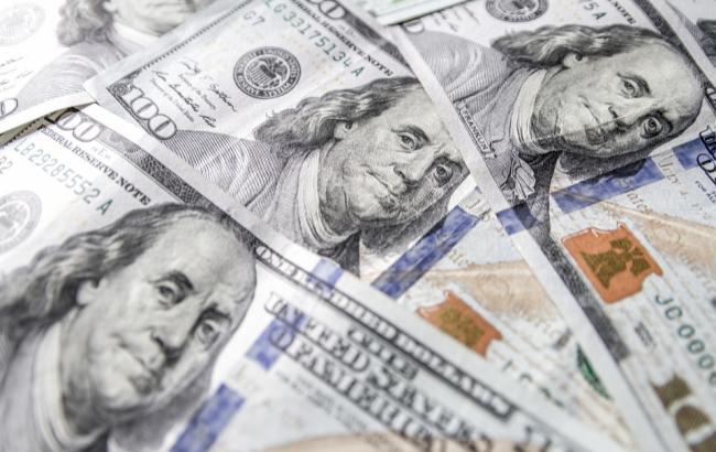 Курс доллара на межбанке упал до 27,91 грн/доллар