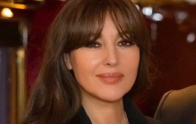 Ответ Венсану Касселю: Моника Белуччи впервые вышла в свет с молодым бойфрендом