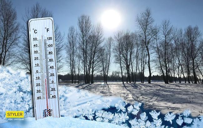 Погода зимой: украинцам рассказали о снежных праздниках и пике холодов