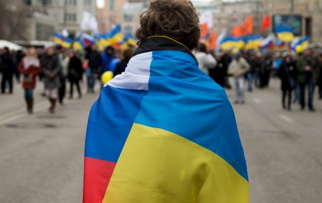 Фото: Росіянка звернулася до українців