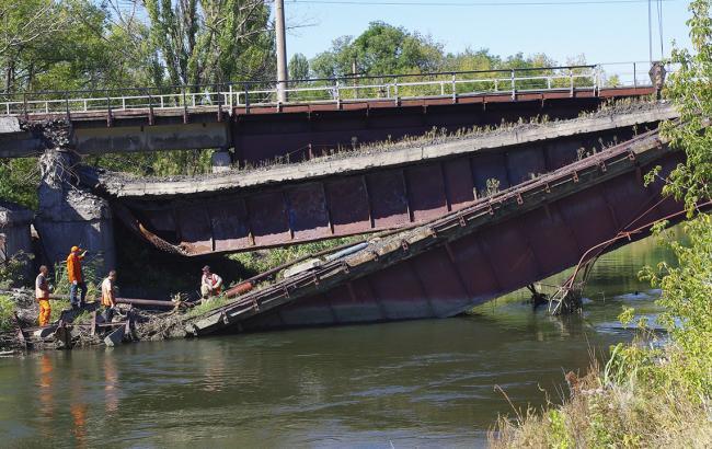 Фото: правительство выделило около 88 млн грн на мосты Донбасса
