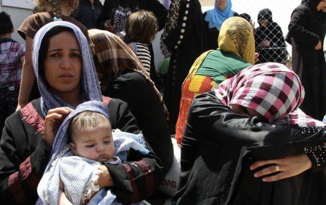 Фото: беженцы из Мосула
