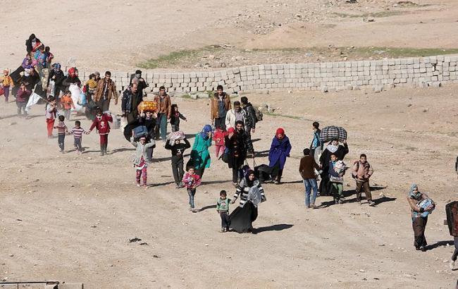 Фото: Мосул залишило понад 180 тисяч осіб