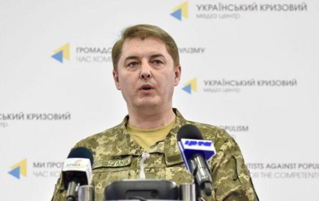В зоні АТО за добу загинув один український військовий, 5 поранені