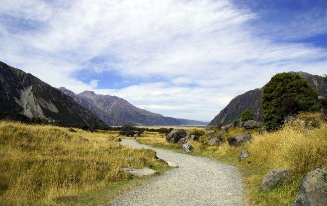 В Новой Зеландии обвал заблокировал около тысячи туристов