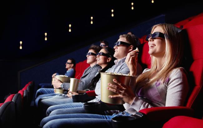 Фото: Зрители в кинотеатре (tvogfilm.no)