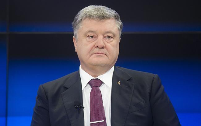 Фото: Петр Порошенко (пресс-служба президента Украины/Михаил Палинчак)
