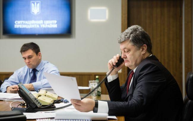 Фото: президент України Петро Порошенко
