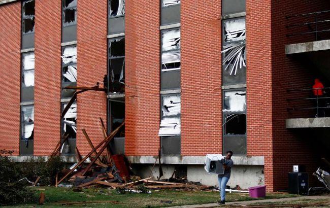 Фото: торнадо в США