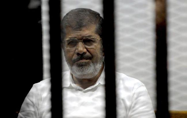 Фото: екс-президент Єгипту Мохаммед Мурсі
