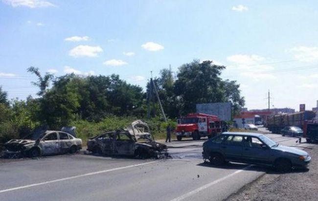 Фото: перестрелка в Мукачево