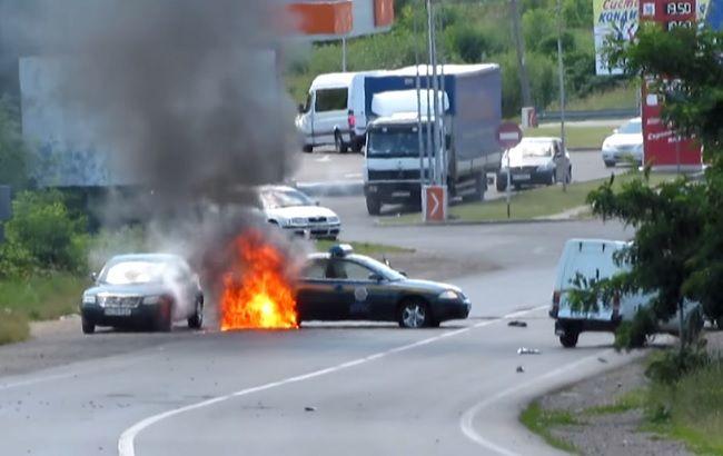 Фото: перестрілка в Мукачево