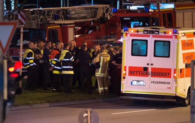 Фото: стрельба в Мюнхене