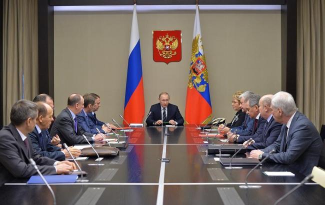 Фото: Путин провел заседание Совбеза