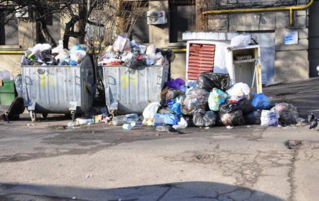 Фото: Дитину викинули на смітник (kochegarka.com.ua)