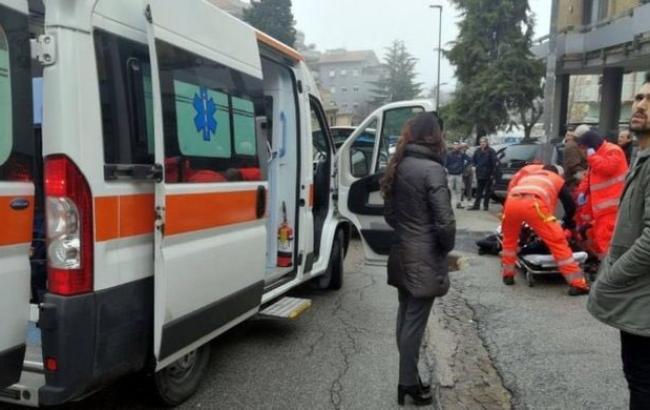 Фото: место инцидента (MVT_NEWS twitter)