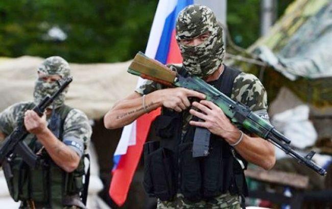 Фото: проросійські бойовики (mykolaivka-rada.gov.ua)