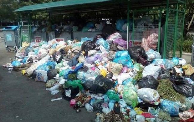 ВоЛьвове вывезли мусор спочти половины площадок