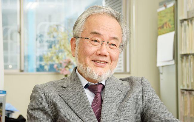 Фото: японський вчений Йошинорі Ошумі