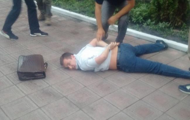 Фото: СБУ затримала громадянина Молдови, розшукуваного Інтерпол