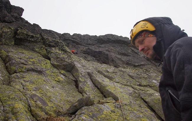 Фото: український альпініст Олександр Науменко