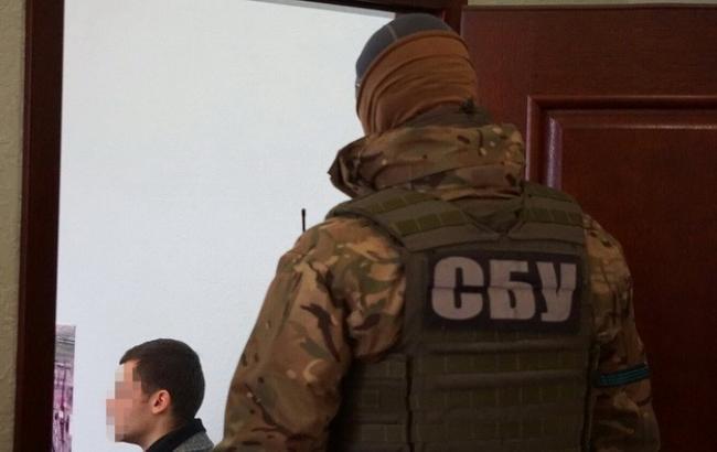 Фото: СБУ проводит обыски в офисах морского терминала
