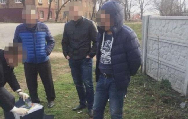 Фото: задержание полицейских-взяточников
