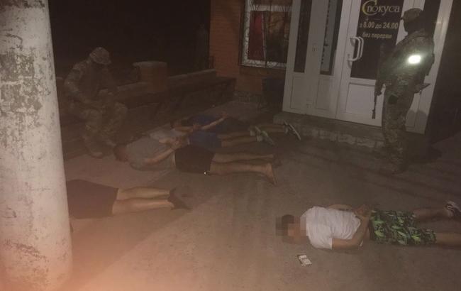 В Сумській області СБУ затримала банду вимагачів