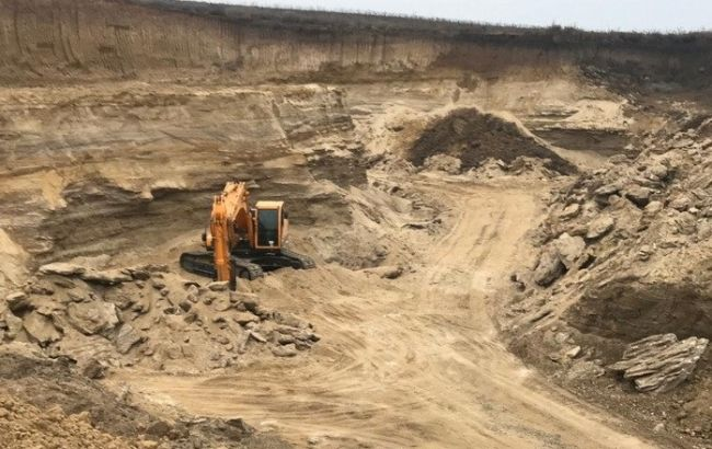 В Одесской области выявили незаконную добычу полезных ископаемых на 50 млн гривен