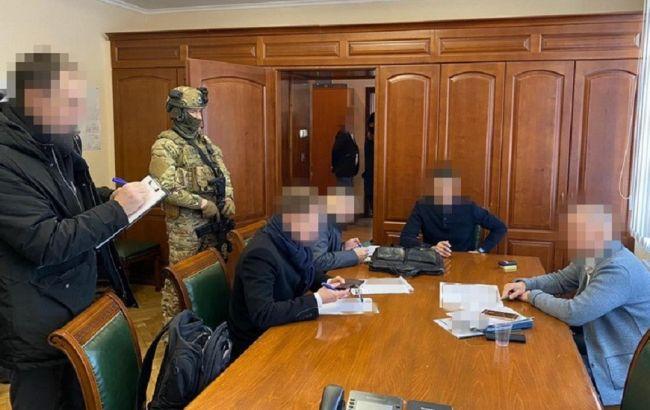 """Обыски в """"Киевметрострое"""": СБУ изъяла документы и электронные носители информации"""