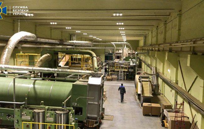 СБУ накрыла подпольное табачное производство: изъяли15 млн пачек