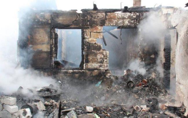 Боевики обстреляли сельхозпредприятие, наодной изферм начался пожар— штаб