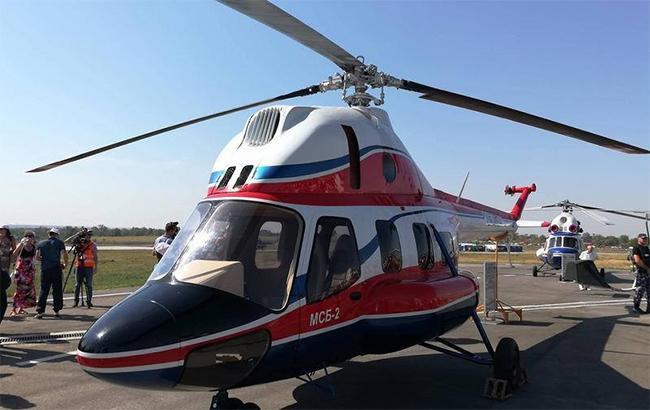 "Фото: вертолет ""Надежда"" (facebook.com-metizzp)"